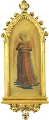 £128 • Buy An Angel Old Master Oil Painting Manner Of Fra Angelico (Italian, C.1395-1455)