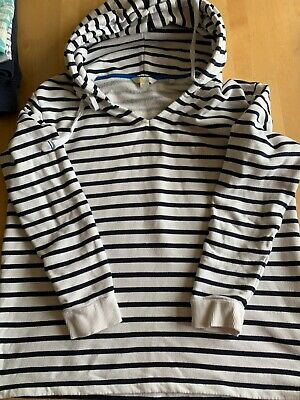 £5 • Buy Large Women's Boden Hoody White With Stripes