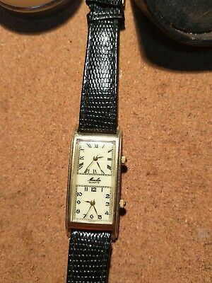 £10.99 • Buy Vintage Moulin Dual Face Double Dial WATCH Unknown Working Condition