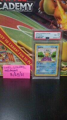 $51 • Buy Pokemon Card Squirtle 1stEdition 63/102 PSA 8 NM-MT