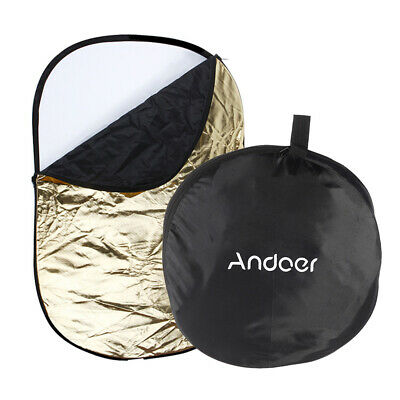 £16.91 • Buy Andoer 5 In 1 Multi Collapsible  Photo Photography Light Reflector UK Y9M7