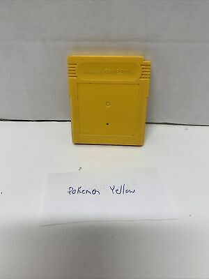 $34.99 • Buy Pokemon Yellow Version Special Pikachu Edition (Game Boy 1999) Authentic Saves