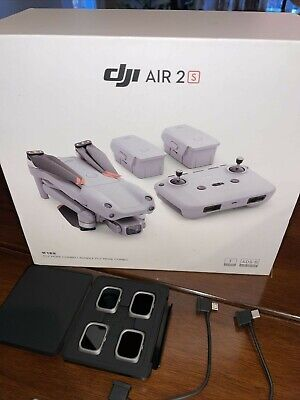 AU510 • Buy DJl AlR 2S FIy More Combo Drone - With SD Card - Used Once