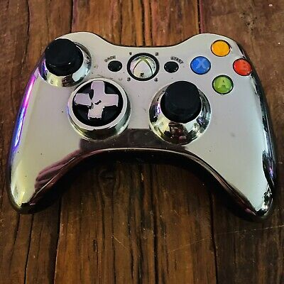 AU59.96 • Buy Gold Chrome Xbox 360 Controller Wireless Limited Edition GENUINE OFFICIAL Rare