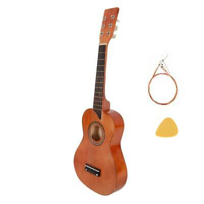 £10.99 • Buy New 25  Kids Children Guitar With Picks Strings Xmas Gift Coffee Color