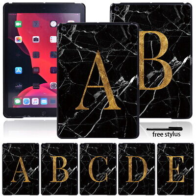 £4.74 • Buy Printed Letter Tablet Hard Shell Cover Case Fit Apple IPad 9th Gen (2021) 10.2
