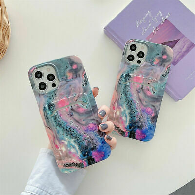 AU15.59 • Buy For IPhone 7 8 Plus 12 13 Pro XS Max XR Card Holder Phone Case Shockproof Cover