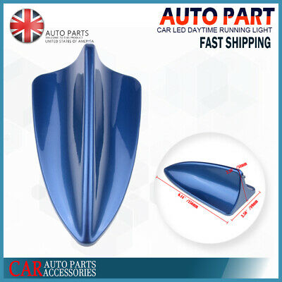 £8.99 • Buy Blue Car Roof Dummy Signal Shark Fin Style Aerial Antenna Cover Universal For VW