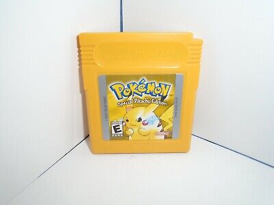$47 • Buy Pokemon Yellow Version Pikachu Edition Authentic Tested Working