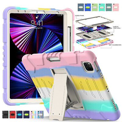AU20.24 • Buy For IPad 10.2 8th 7th 9.7 5/6th Gen Air 10.5 Pro 12.9 2020 Heavy Duty Stand Case