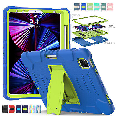 AU25.99 • Buy For IPad Pro 12.9 2020 10.5'' Air 3/2/1 Hybird Heavy Duty Bumper Hard Stand Case