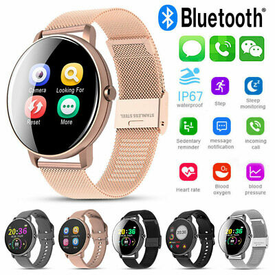AU19.99 • Buy Unique Chic Womens Smart Watch Fitness Tracker Heart Rate Monitor Iphone Sumsung