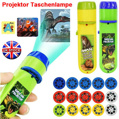 £4.19 • Buy Children Projector Torch Projection Light Kids Educational Learning Night Light
