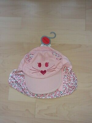 £4 • Buy Bnwt Baby Girls Legionnaires Style Baseball Cap Hat With Neck Protector Age...