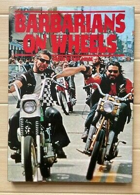 £250 • Buy BARBARIANS ON WHEELS HELLS ANGELS HAMC 81 OUTLAW BIKER 1%er EXCELLENT CONDITION