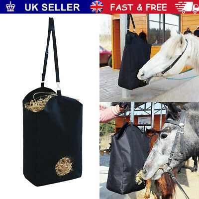 £11.95 • Buy Horse Feed Durable Large Hay Bag For Horses Pony Control Feeding Equestrian New