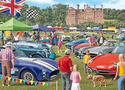 £10.99 • Buy Falcon 1000 Piece Jigsaw  Deluxe NEW & SEALED  The Car Show    68cm X 49cm