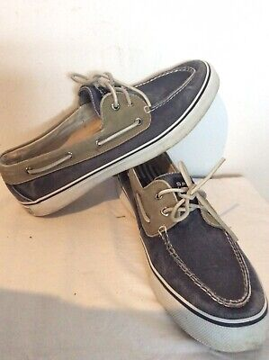 £12.10 • Buy Mens Sperry Top-Sider Size 11M Canverse Great Condition