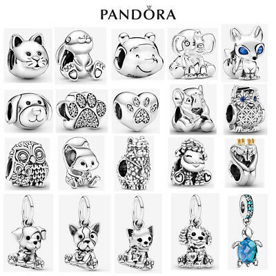 £13.99 • Buy Genuine Sterling Silver ALE S925 Pandora Pets Animals Dangle Charm With Gift Box