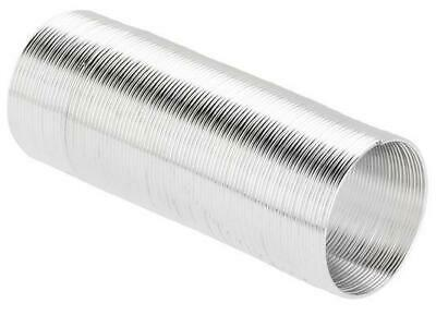 £2.29 • Buy 70 COILS 22mm X 0.6mm RING MEMORY WIRE SILVER  PLATED   AD5