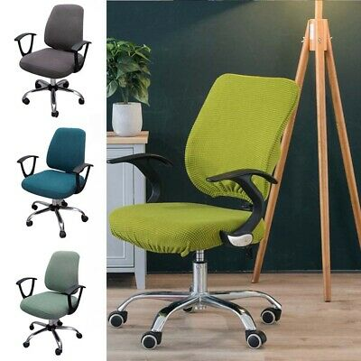 AU16.99 • Buy Swivel Computer Chair Cover Stretch Removable Office Seat Slipcover Protector