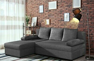 £349 • Buy Universal L-Shaped Corner Sofa Bed With Storage