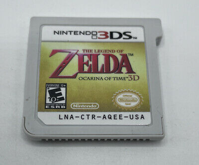AU20.19 • Buy The Legend Of Zelda Ocarina Of Time 3D (3DS, 2011) Cartridge Only