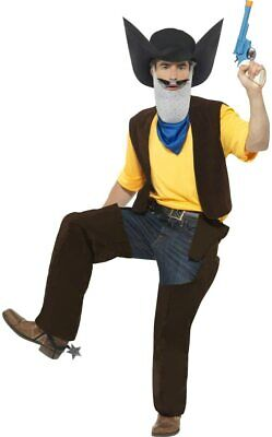 £36.99 • Buy Adult Fancy Dress Halloween World Book Day Cowboy Superted Texas Pete Costume