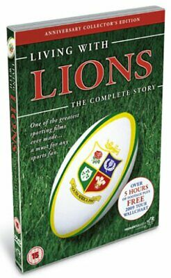 £8.89 • Buy Living With Lions - The Complete Story - Sealed NEW DVD - Rugby