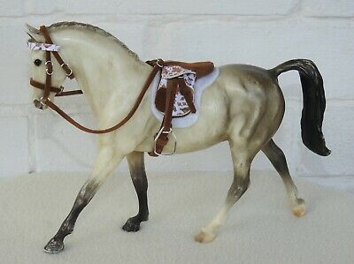 £22 • Buy Handmade Autumn Leaves Saddle Bridle 1:12 Scale Classic Breyer Horse Not Incl.