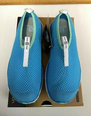 £80 • Buy New Salomon Womens Trainers Shoes RX Moc Lds Blue UK 5.5 Christmas Birthday Gift
