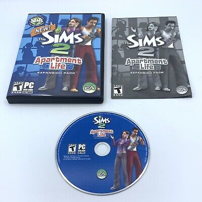 £12.28 • Buy Sims 2: Apartment Life Expansion Pack (PC, 2008) Complete W/ Manual