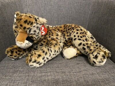 """£8.99 • Buy TY Classic Cheetah Cat Piston 2003 Retired Beanie Baby With Tags - 12"""""""