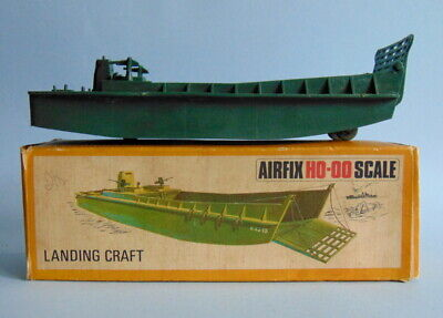 £14.99 • Buy Boxed Green Plastic AIRFIX HO-OO Scale LANDING CRAFT Model. Made In England