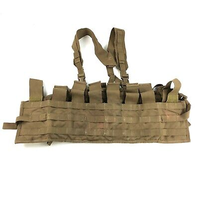 £19.60 • Buy USMC Tactical Assault Panel TAP Chest Rig Coyote Brown MOLLE Marine Corps DEFECT