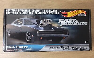 AU60 • Buy Hot Wheels Premium Fast And Furious - Full Force Box Set Limited Edition