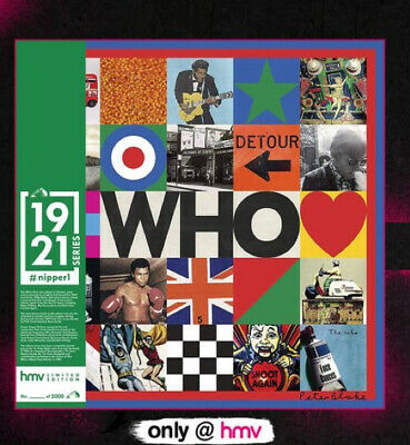 £24.99 • Buy THE WHO Self Titled / Greatest Hits HMV Exclusive 1921 SERIES #Nipper 1 Sealed