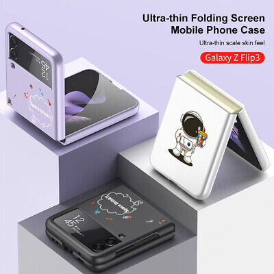 AU18.99 • Buy Astronaut Thin Shockproof Hard Back Phone Case Cover For Samsung Galaxy Z Flip 3