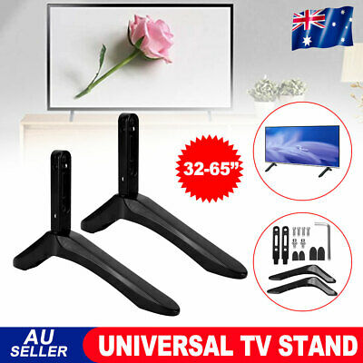 AU22.95 • Buy TV Bracket Universal Stand Leg Mount Table Top LED LCD Flat For 32''-65'' Screen