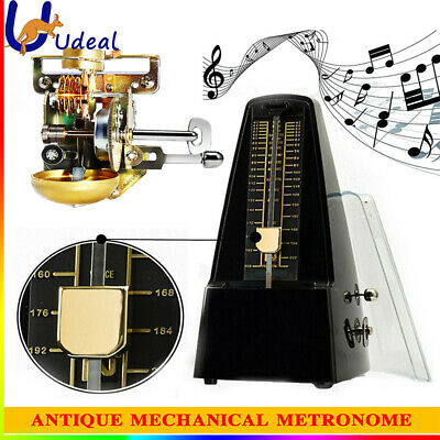 AU25.55 • Buy Universal Standard Mechanical Metronome ABS For Guitar Violin Piano Bass Sydney