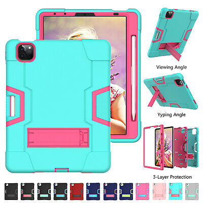 AU23.67 • Buy For IPad Pro 11'' 12.9 2021 8765 Air Mni Hybrid Heavy Duty Hard Stand Case Cover