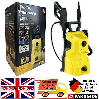 £69.99 • Buy Parkside 1300W Electric Pressure Washer Jet Wash Car Garden Patio Cleaning DIY
