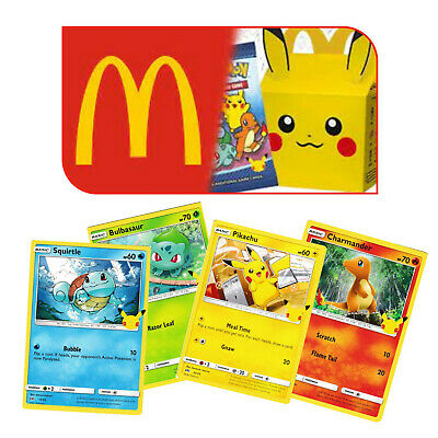 AU1 • Buy Pokemon Cards 25th Anniversary McDonalds HOLOS & NON HOLOS - Pick From List
