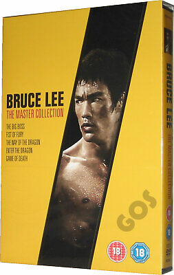 £36.95 • Buy Bruce Lee The Master Collection DVD Restored Remastered Films + Extras New