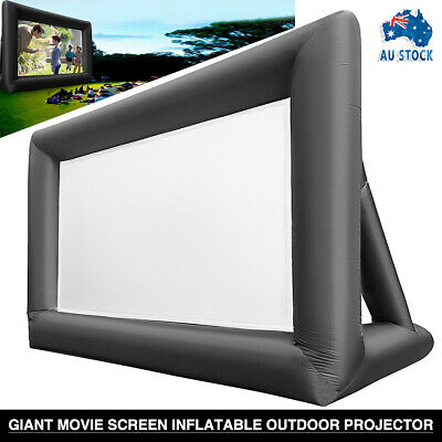 AU195.99 • Buy 6M*4M Giant Movie Screen Inflatable Outdoor Projector Cinema Backyard Theater AU