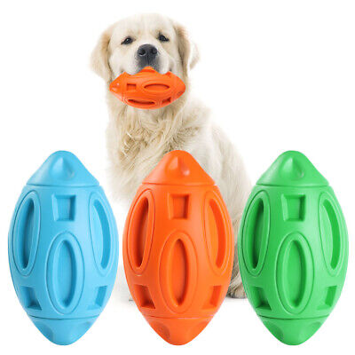 £6.44 • Buy Durable Funny Tough Dog Squeaky Toy Rubber Ball Pet Chew Toys Outdoor Dog Toys