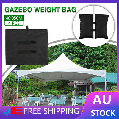 AU23.30 • Buy 4pcs Garden Gazebo Foot Leg Feet Weights Sand Bag For Marquee Party Tent Camping