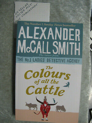 AU8.50 • Buy The Colours Of All The Cattle - Alexander McCall Smith OzSellerFasterPost!