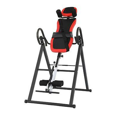 £87.99 • Buy New Foldable Inversion Table Bench Back Neck Therapy Equipment Fitness UK