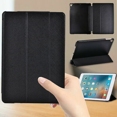 £4.49 • Buy Black PU Leather Stand Folio Tablet Case Cover For Apple IPad /mini//Air/Pro